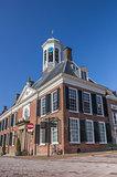 Town hall in the historical center of Dokkum