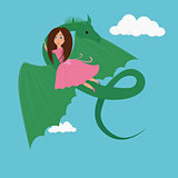 girl and the Dragon