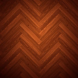 Herringbone Parquet Dark Floor Pattern