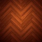 Herringbone Parquet Dark Floor Pattern