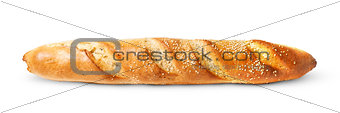 French baguette horizontally