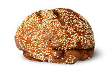 Rye bread with sesame seeds