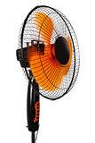 modern orange fan