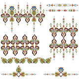 Antique ottoman turkish pattern vector design eighty three