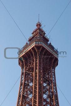 Top of the Blackpool tower
