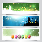 Collection of Easter backgrounds