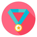 Award Medal Circle Icon