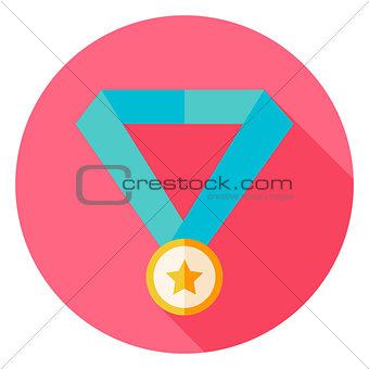 Award Medal Circle Icon