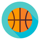 Basketball Circle Icon