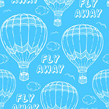 Pattern with air balloons