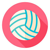 Volleyball Circle Icon