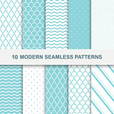 10 modern seamless patterns