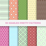 Color seamless vector patterns