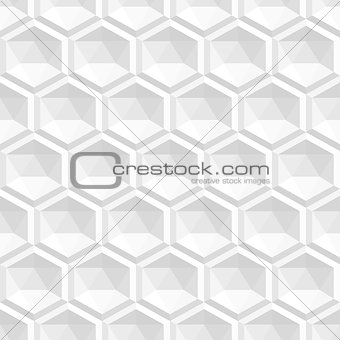 Abstract white 3d texture - seamless.