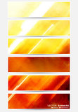 Abstract banners. Vector collection