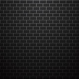 Dark brick wall. Vector background.