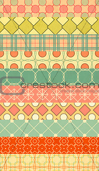Background in patchwork style