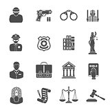 Crime and Punishment Icons