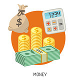 Money and Finance Flat Icons