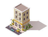 Vector isometric post office