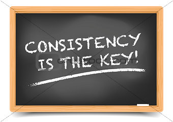 Blackboard Consistency is key