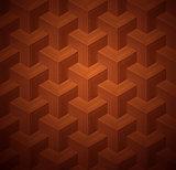 Dark Parquet 3d Seamless Floor Pattern