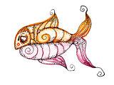 Vector fish,