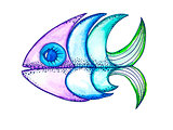 Vector fish,