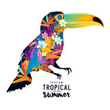 Tropical Summer Toucan