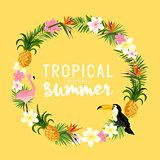 Tropical Wreath