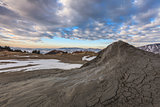 Mud Volcanoes in Buzau, Romania