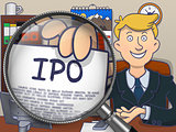 IPO through Lens. Doodle Style.