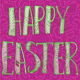 Happy Easter Letters Print