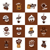 vector logo for coffee