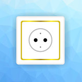 White Socket Icon