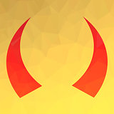 Red Horns Icon