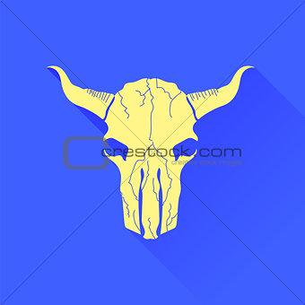 Skull of Bull Icon