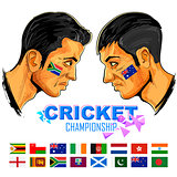 Cricket players of cricket championship
