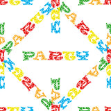Party vector seamless pattern.