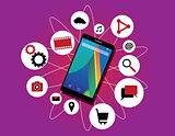 Multitasking phone cellphone ability running multiple apps multitasker