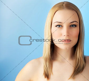 Beautiful face woman