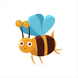 Bee Mid-air Icon