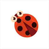 Ladybug From Above Icon