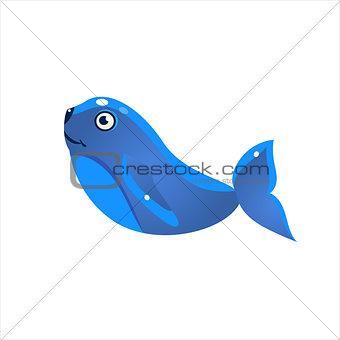 Blue Seal Icon