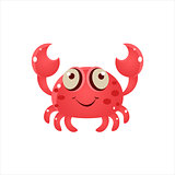 Pink Crab Icon