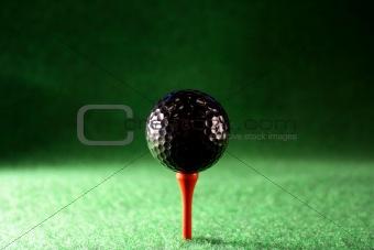 Black golfball