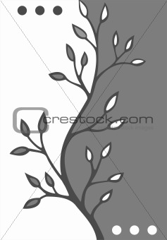 abstract vegetative background