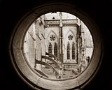Basilica View Thru Round Window