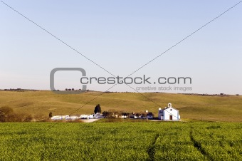 Church in the plain