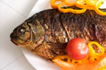 Grilled carp